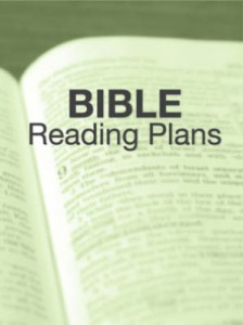 Bible reading plans graphic